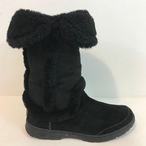 UGG Katia Boots Size US 11 EU 42 Suede Shearling